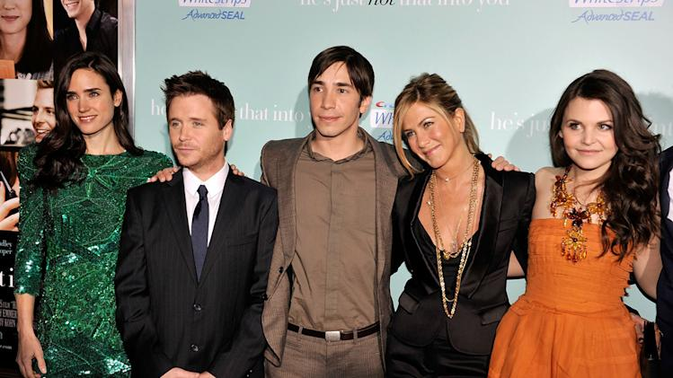 He's Just Not That Into You LA premiere 2009 Jennifer Connelly Kevin Connolly Justin Long Jennifer Aniston Ginnifer Goodwin