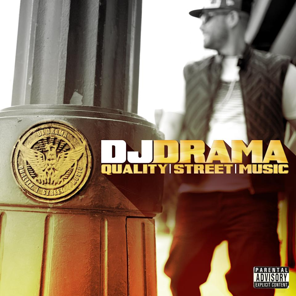 "This CD cover released by E1 Music shows the latest release by DJ Drama, ""Quality Street Music."" (AP Photo/E1 Music)"