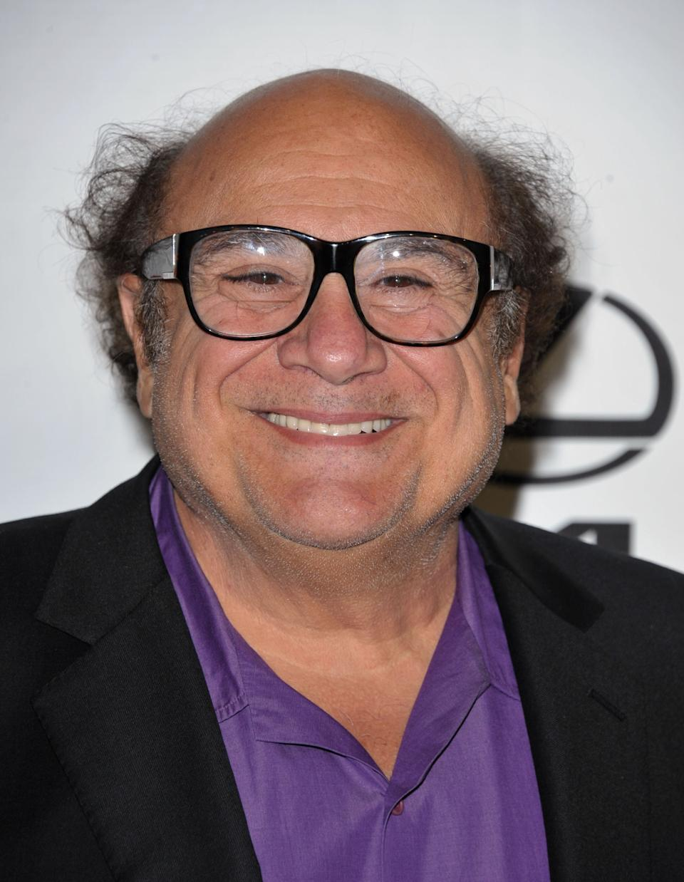 IMAGE DISTRIBUTED FOR  ENVIRONMENTAL MEDIA ASSOCIATION -  Danny DeVito arrives at the 22nd Annual Environmental Media Awards on Saturday Sept. 29, 2012, at Warner Bros. Studios in Burbank, Calif. (Photo by John Shearer/Invision for Environmental Media Association/AP Images)
