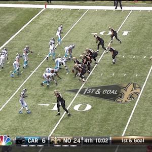 QB Brees to TE Graham, 8-yd, pass, TD