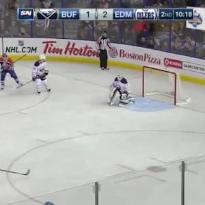 Jhonas Enroth Save on Benoit Pouliot (09:43/2nd)