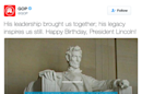 RNC misquotes Abraham Lincoln, sparking Twitter frenzy