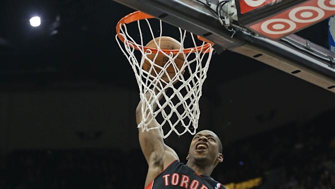 NBA: Toronto Raptors at Minnesota Timberwolves