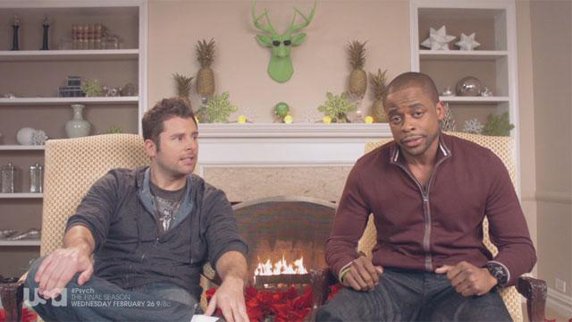 A Special 'Psych' Message from James Roday and Dulé Hill