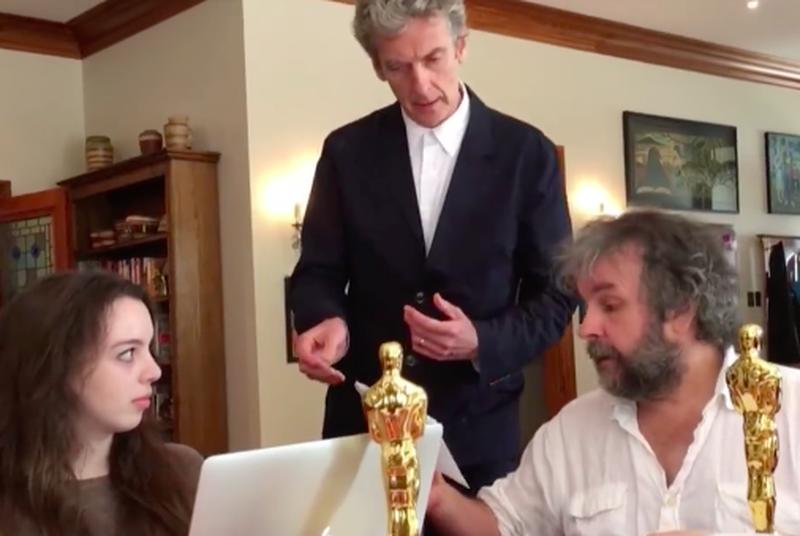 Peter Jackson is trolling Doctor Who and Lord of the Rings fans at the same time