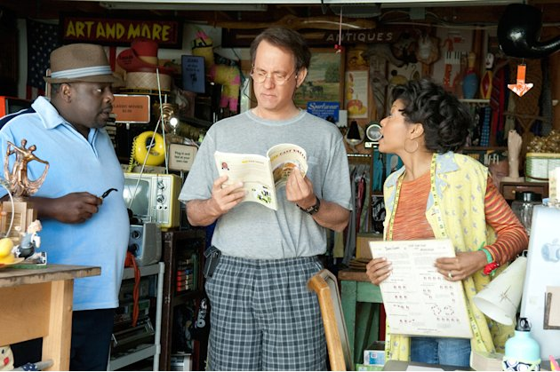 Larry Crowne 2011 Universal Pictures Cedric the Entertainer Tom Hanks Taraji P Henson