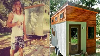 Student Ditches Dorms For 145-square-foot Tiny Home To Graduate Debt-Free