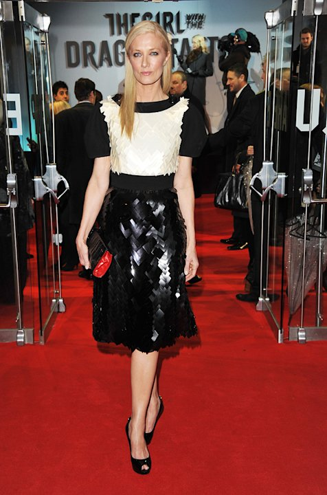 The Girl with the Dragon Tattoo 2011 UK Premiere joely Richardson