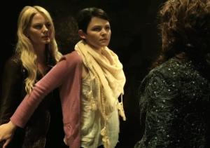 Exclusive Once Upon a Time Video: Snow Introduces Emma to the Real Queen of Mean