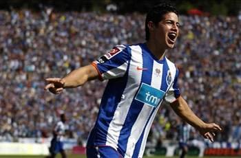 Porto star James Rodriguez dreams of Spain move