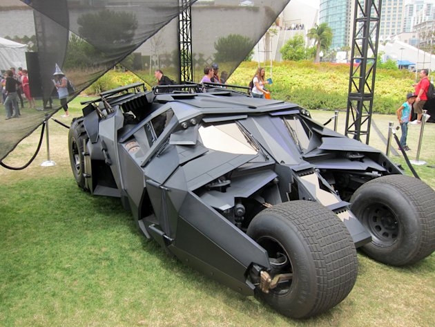 The Batpod from 'The Dark …