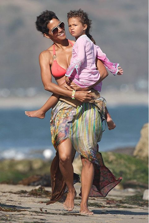 Halle Berry Malibu Bday Prty