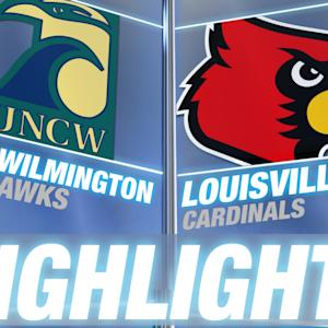 UNC Wilmington vs Louisville | 2014-15 ACC Men's Basketball Highlights