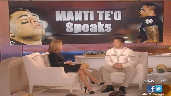 Manti Te'o to Katie Couric: 'Put yourself in my situation'