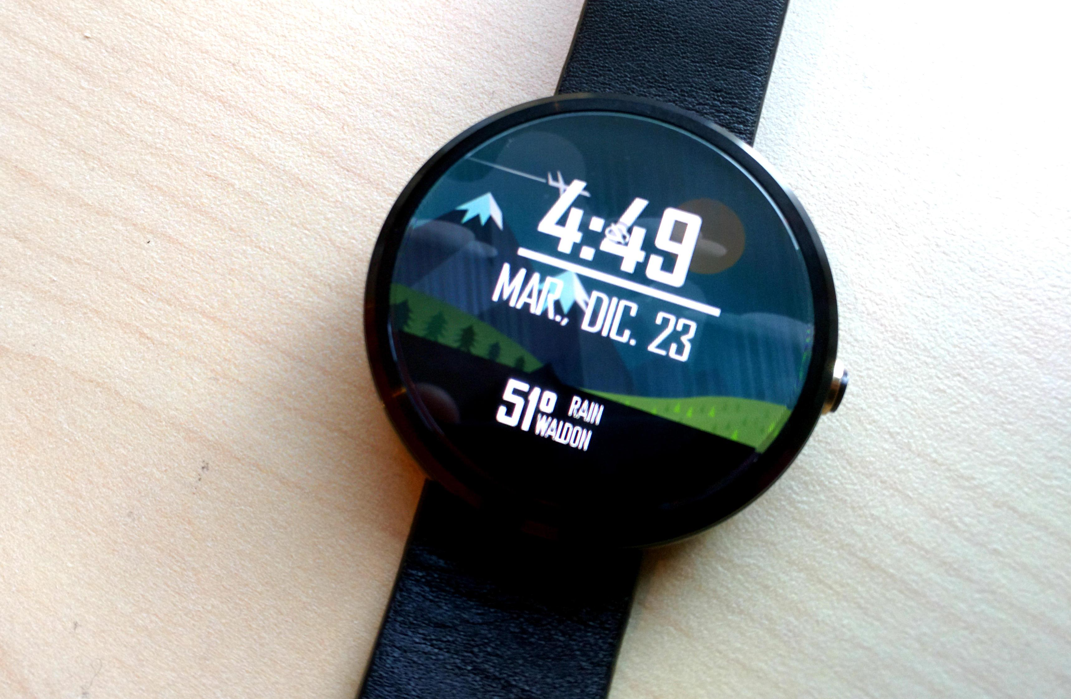 MotoMaker customization coming to the Moto 360 in March