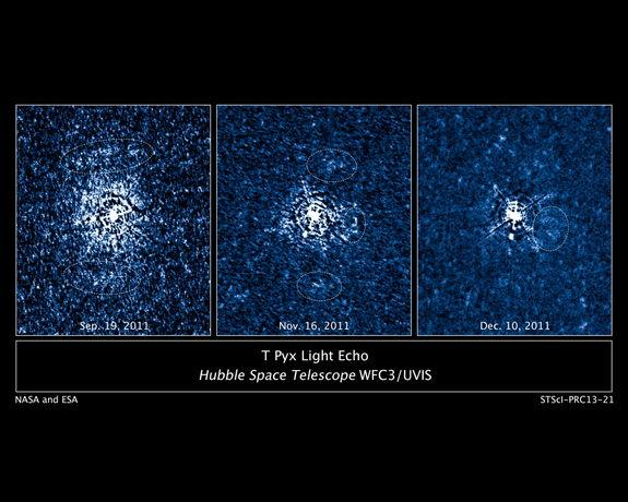 Hubble Telescope Spies Huge Explosion on Faraway Star