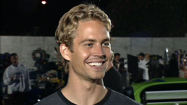 FLASHBACK: Paul Walker on the Set of 'The Fast and the Furious' in 2000