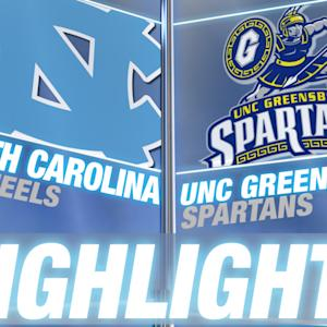 UNC Greensboro vs North Carolina | 2014-15 ACC Men's Basketball Highlights