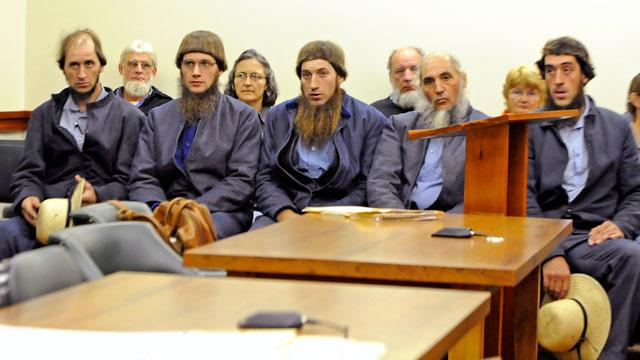 Seven Amish Men Charged with Hate Crimes for Beard Cutting