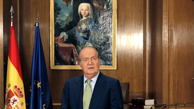 Spain's king appeals for unity in financial crisis