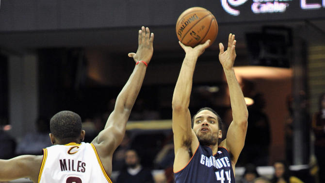 NBA: Charlotte Bobcats at Cleveland Cavaliers
