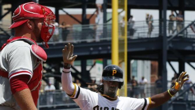 Locke tops Phillies 6-2; Pirates finish 1st sweep