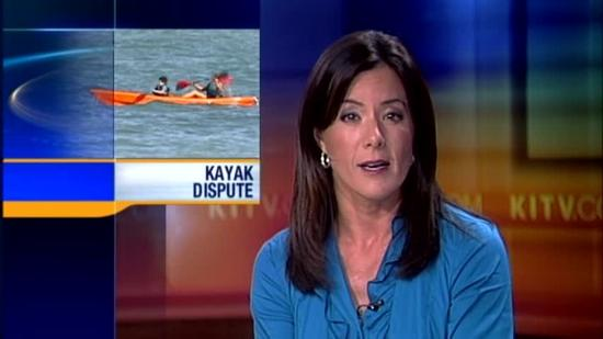 Kailua kayak owner explains water hose incident