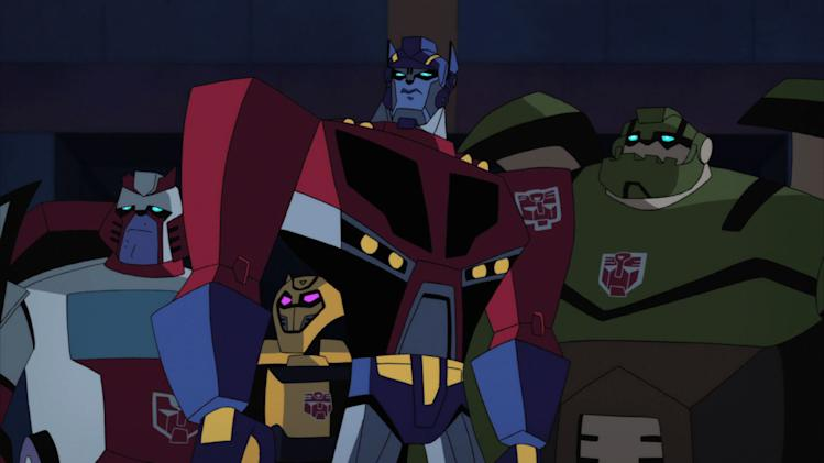 """Transformers Animated"" - ""Human Error""..on The Hub.Friday, 12/21 at 6pm, 6:30pm.Tuesday, 12/25 at 5pm, 5:30pm"