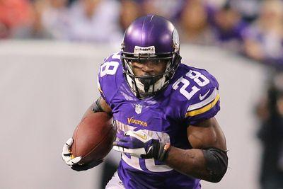 Adrian Peterson says OTA absence not about securing a trade
