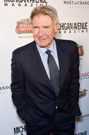 Harrison Ford attends the Michigan Avenue Magazine Event With Harrison Ford at Chicago Cut Steakhouse on March 18, 2013 in Chicago, Illinois -- Getty Images