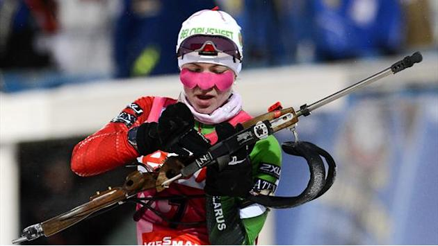 Biathlon - Domracheva doubles up in Oberhof