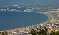 A picture shows the Haifa Bay in northern Israel. Israeli Prime Minister Benjamin Netanyahu on Tuesday called an early general election, presenting himself as the only option in the face of the Iranian nuclear threat, upheavals in the Middle East and the global economic crisis
