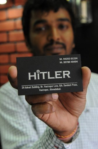 Hitler clothing store and owner Rajesh Shah