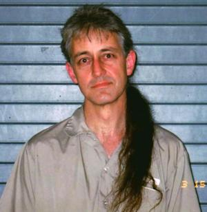 FILE - This image provided by Keith R. Judd shows the federal prisoner Keith Russell Judd, 49, at the Beaumont Federal Correctional Institution in Beaumont, Texas in this March 15, 2008 file photo. Just how unpopular is President Barack Obama in some parts of the country? Enough that Keith R. Judd in prison in Texas got 4 out of 10 votes in West Virginia's Democratic presidential primary.  (AP Photo/ The Beaumont Enterprise courtesy of Keith R. Judd)