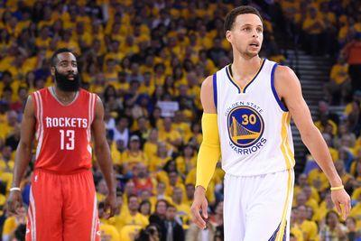 Stephen Curry says James Harden's MVP talk 'doesn't change what happened'