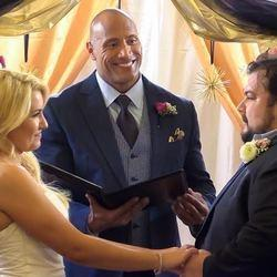 Attention Everyone: The Rock Is Now An Experienced Wedding Officiant
