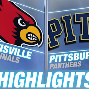 Louisville vs Pittsburgh | 2014-15 ACC Men's Basketball Highlights