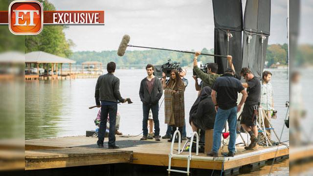 Exclusive 'Vampire Diaries' Behind The Scenes Look