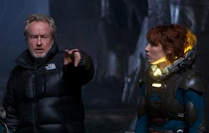 'Alien' Universe Revisited at London 'Prometheus' Premiere