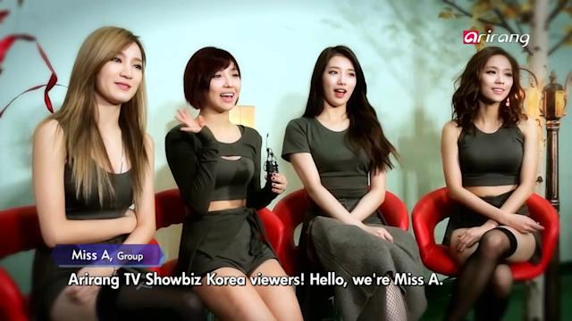 Showbiz Korea: Miss A on K-STAR
