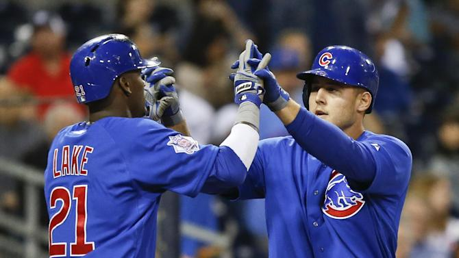 Rizzo homers, Cubs beat Padres 5-1