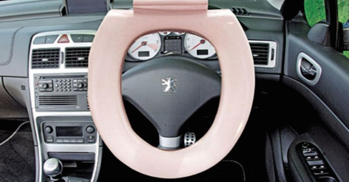 14 Absolutely Insane Steering Wheels
