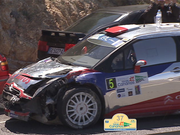 ERC CANARIAS after SS11