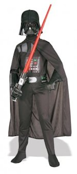 There will be lots of little Darth Vadars this Halloween.