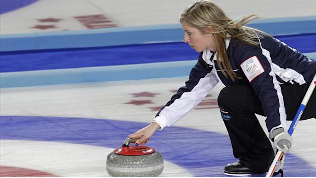 Curling - Muirhead maintains winning momentum in Riga