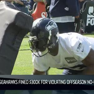 Seattle Seahawks hit with $300K fine