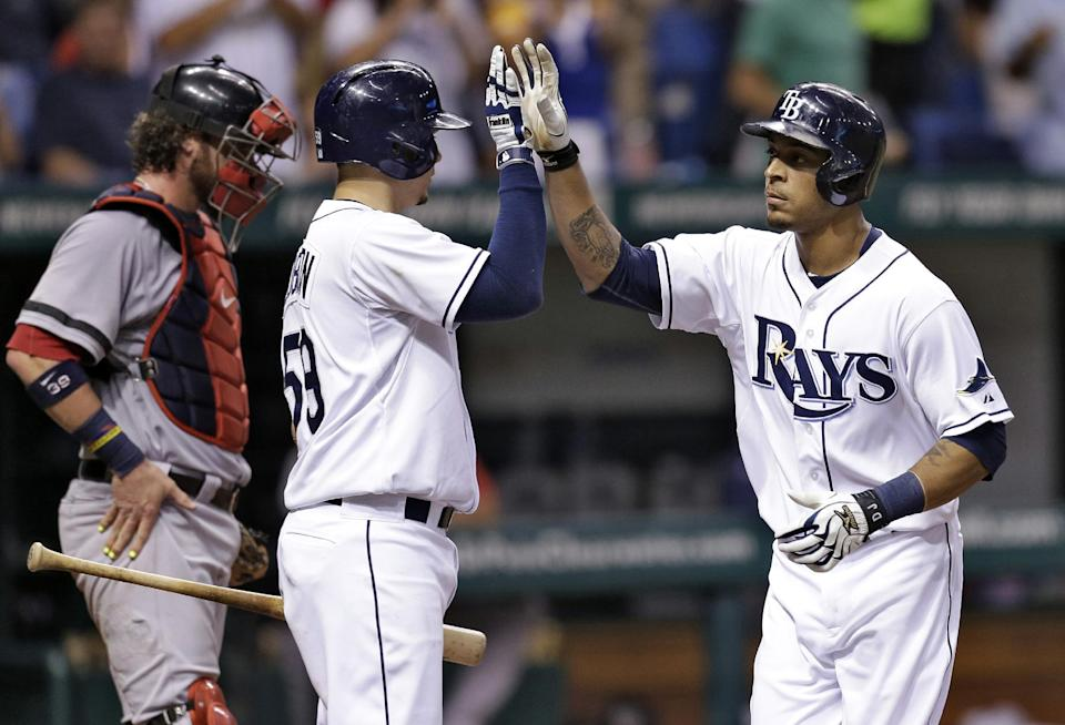 Myers gets tiebreaking hit, Rays beat Red Sox 4-3