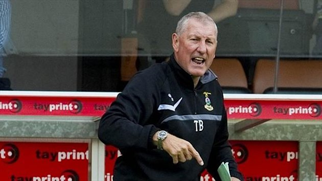 Terry Butcher's Inverness were comfortable in their victory over Hibernian