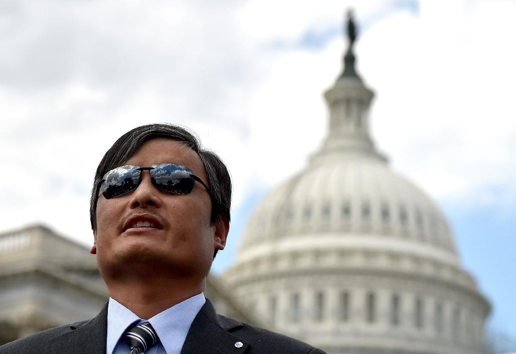 Painful memories for blind activist who escaped China's grip