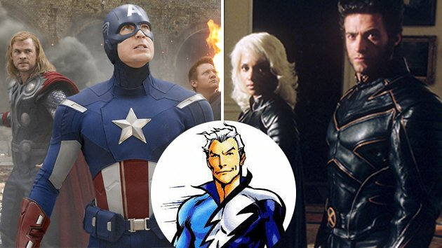 'Avengers' and 'X-Men' are playing nice when it comes to sharing Quicksilver